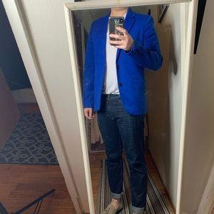 Zara bright blue blazer